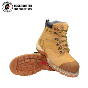 Wholesale safety boots Rockrooster work Anti-static safety boots composite toe cap mining safety boots