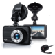 Full HD 1080P 3 inch 150 Degree 6 Led Dual Car Camera DVR Night Vision Car Recorder Two lens Dash Cam Auto Video Dashcam