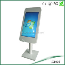 32inch LCD interactive kiosk with iphone shape floor standing