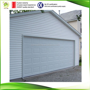 Finished Surface Aluminum Automatic Tilt Up Garage Door Sizes And