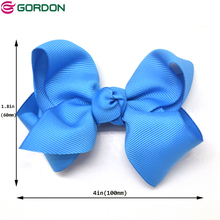 Grosgrain Lint Boutique Meisjes Baby Hair Bows Clips Grosgrain Hair Bows Met Alligator <span class=keywords><strong>Haar</strong></span> <span class=keywords><strong>Clip</strong></span> <span class=keywords><strong>Accessoires</strong></span>