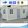 20 ft pu sandwich prefab container house/container office