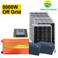 free shipping 5kw solar power generation system