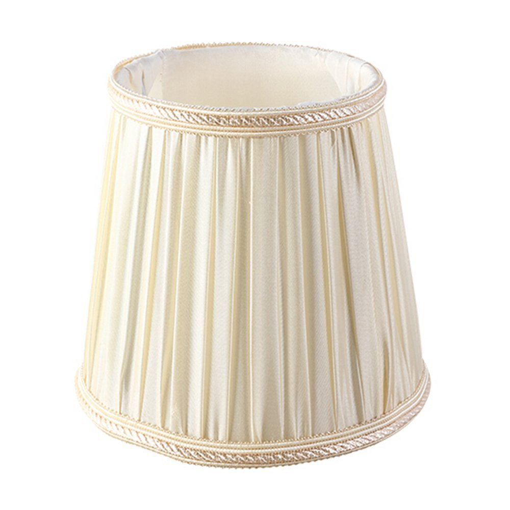 Buy 15 x 14 x 9cm e14 japanese rustic linen fabric chandelier eastlion simple modern manual fabric lamp shade for crystal candle chandelierwall lamptable lamp with wave brim e14 lamp shade 95x13x145cm beige aloadofball