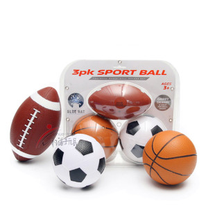 Promotion Gift Basketball/ 3pk Sports Football/Soccer Ball set