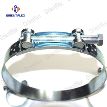 stainless steel high pressure heavy duty hose clamp