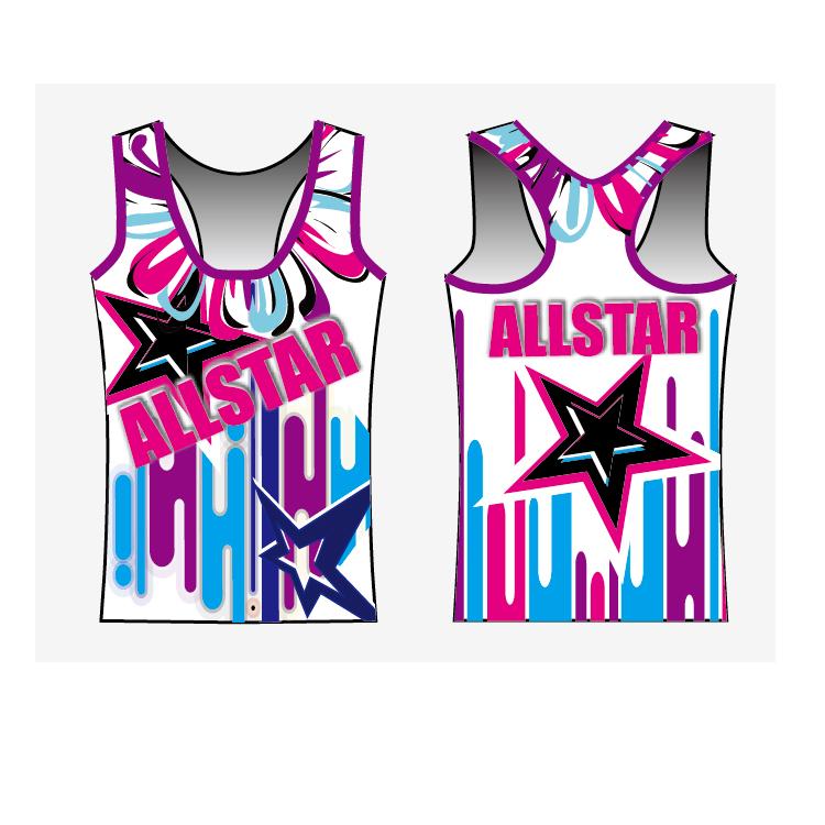 Alibaba.com / High quality youth cheerleading uniforms gym practice wear custom design cheerleading sports bra