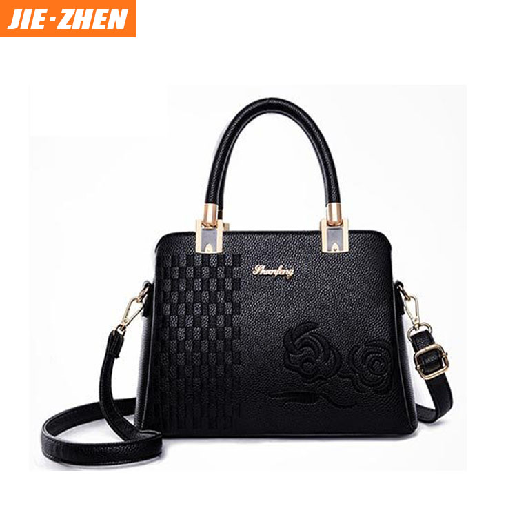 2018 new arrival high quality pu leather <strong>handbag</strong> for women