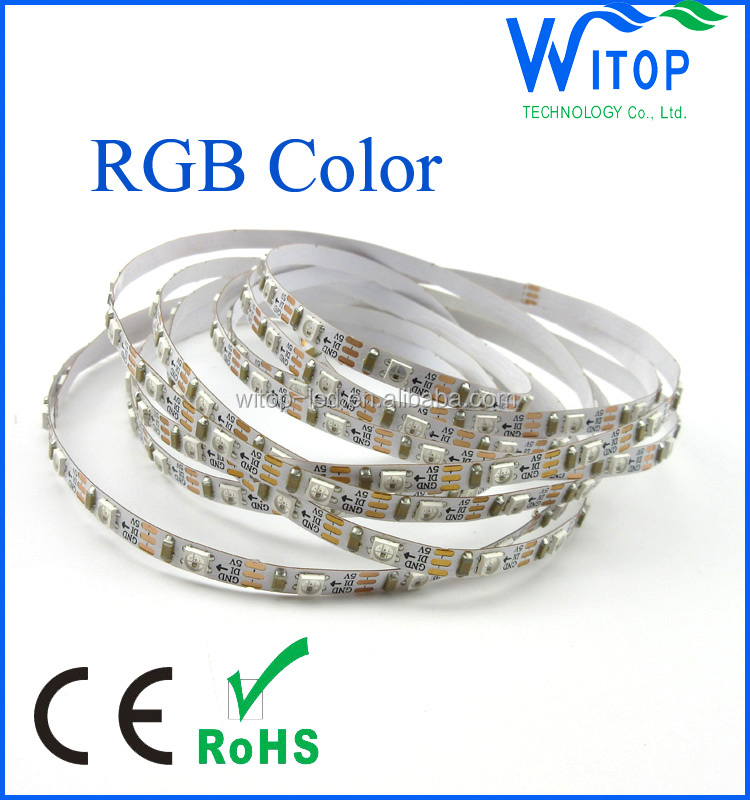 sk6812 digital mini 3535 led rgb smd led strip light 5mm pcb width