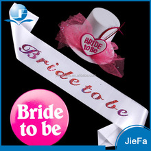 Beautiful Bachelorette Party Bridal Sash Kit