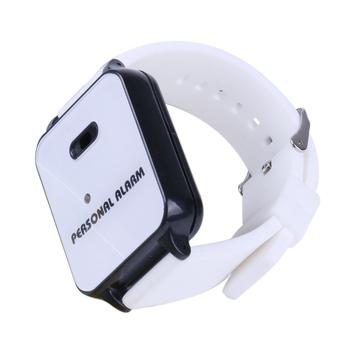 Watch Design Personal Wrist Band Bracelet Panic Alarm With Led Light