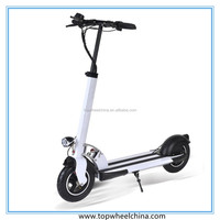 CE foldable 10 inch big tire 2wheel kick scooter china electric bike