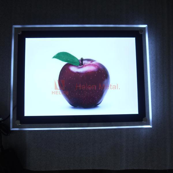 Advertising light box imikimi marco de fotos/free photo picture frame