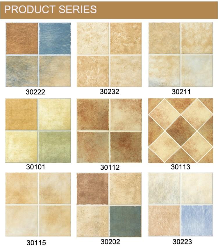 Texture Bathroom Non Slip Tiles Ceramic Floor Tile 3a004