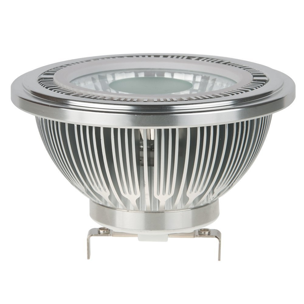HERO-LED AR111-C7W-60D-WW AR111 G53 LED Halogen Replacement Bulb, 7W, 50W Equal, Warm White 3000K (Not Dimmable)