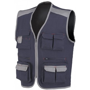 Premium 2018 Men industry engineer waistcoat uniform workwear for summer