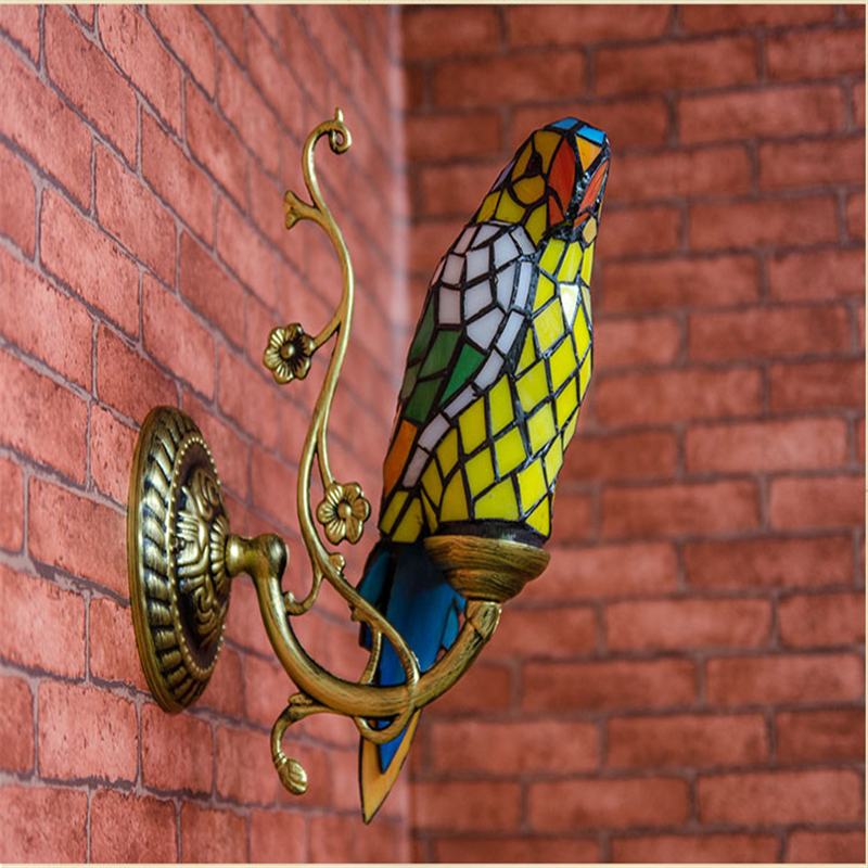 Popular Stained Glass Animal Lamps Buy Cheap Stained Glass