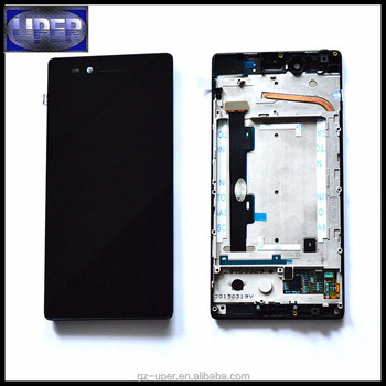 For Lenovo Vibe Shot Max Z90 Z90-7 Z90-3 Lcd Display + Digitizer Touch  Screen Assembly Replacement Cables - Buy For Z90 Lcd Display,For Z90 Lcd