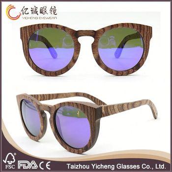Wholesale China Market Natural Wood Sunglasses