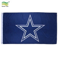 America NFL Sports Polyester Dallas Cowboys Flag