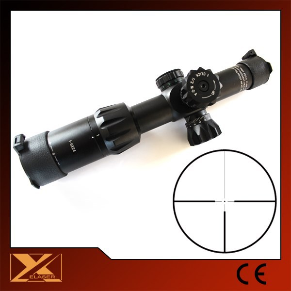 1-6X24 military long eye relief riflescope night vision goggles and scope