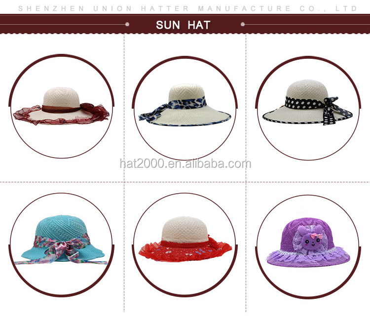 ff113c258 Fresh Spring Cheap Western Woven Summer Lady Paper Fedora Straw Hat ...