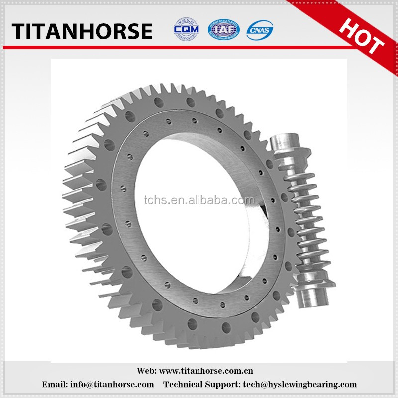 spur gear slewing drive with 220V/380V motor