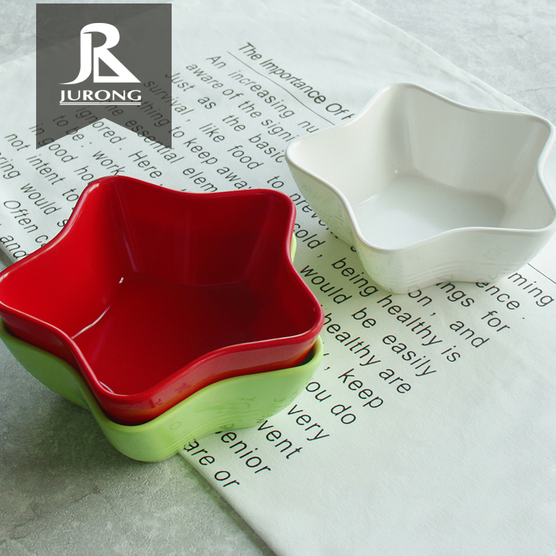 Mini cuencos para salsa de soja blanca de plástico de fabricación de fábrica China