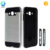 Wire drawing hybrid PC TPU cell phone case for Samsung galaxy S8