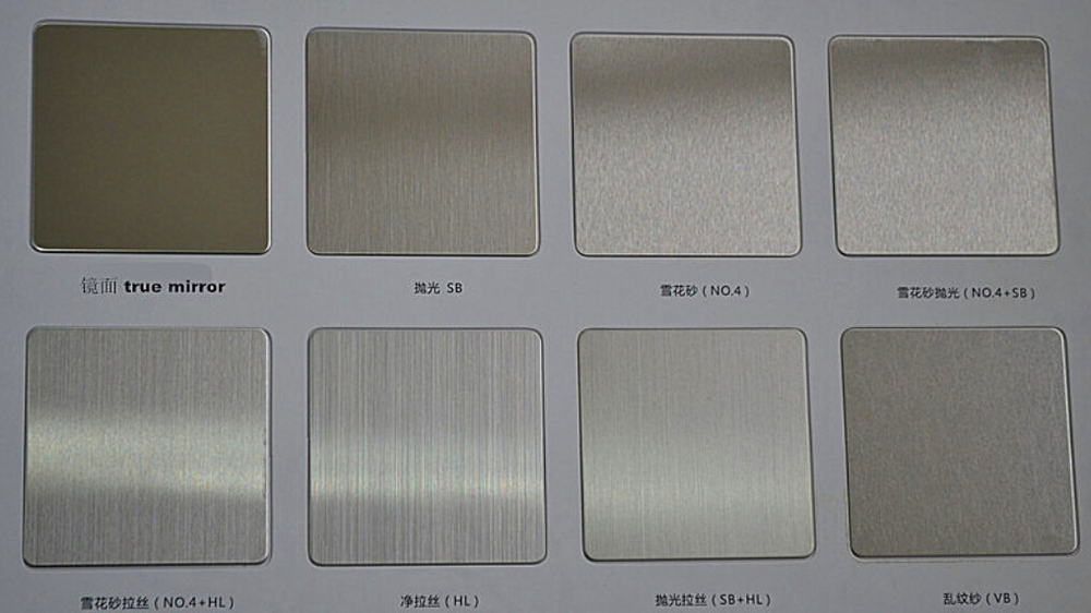No1 2b Ba Stainless Steel Sheet Surface Processing In No