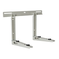 High strength folding air conditioner beam support bracket for outdoor ac unit