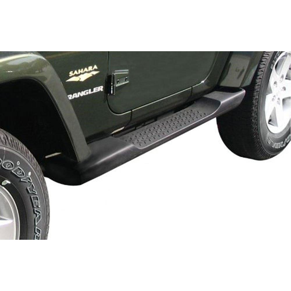Safaripal Jeep Wrangler Side Step Running Board Nerf Bar OE Style for JK 2007-2016 2 & 4 Door Black (2 Door)