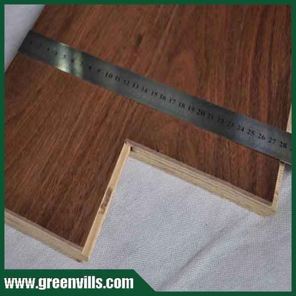 FSC Engineered Wood Flooring AM walnut /American Walunt Flooring UV lac/oil China factory price