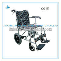Aluminum hand brake handle manual wheelchair