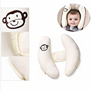 Baby Kid Head Neck Support Baby Car Seat Pillow Trolleys Adjustable Child Neck Care