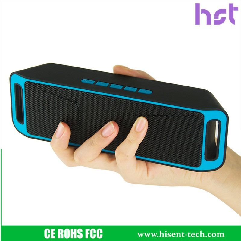 Massive sound room size waterproof Bluetooth speaker HST-208