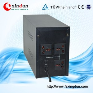 Xindun Power 12VDC to 220VAC 1KW Portable Electrical DC To AC UPS Uninterrupted Power Supply Inverter/1000W Backup UPS