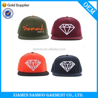 New Design Hip Hop Fashion Snap Back Cap With Embroidery