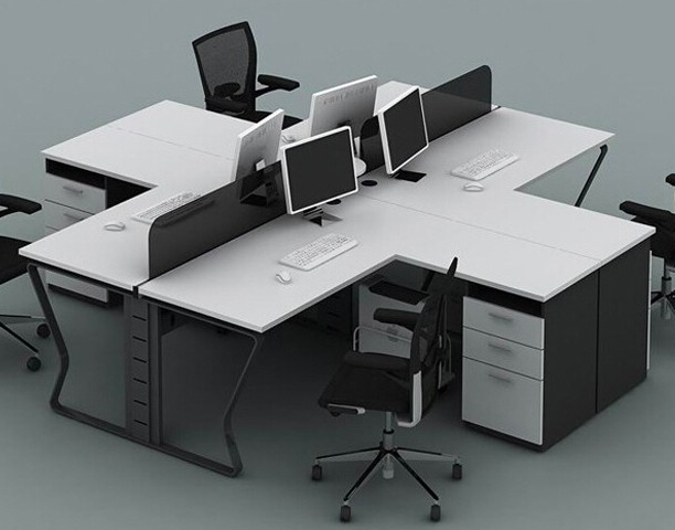 Modern Cheap Open 4 Person Office Furniture Workstation   Buy Workstation, Office Workstation,4 Person Workstation Product On Alibaba.com