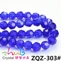 Yiwu Crystal Beads, Pujiang Faceted Rondelle Round Glass Beads Factory
