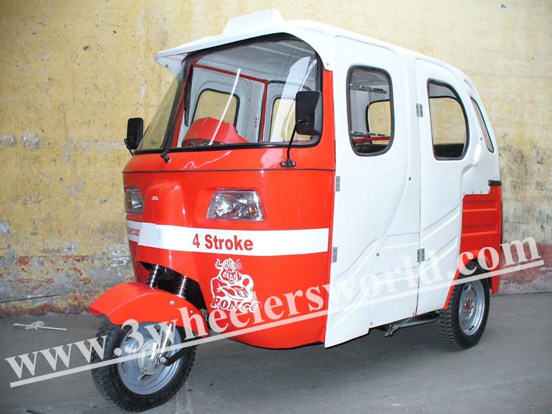 Lifan Engines 150cc Water Cooled Ape Three Wheelers Auto Rickshaw