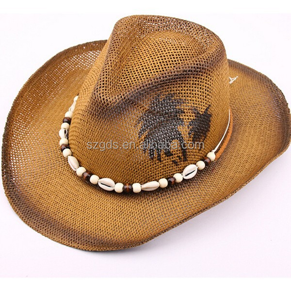 2015 Unisex Top quality mexican sombreros bulk straw cowboy hats mens Straw  Beach Hat for sale 10d733a833d
