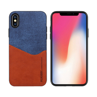 Soft Silicone Leather Mobile Phone Cover Case For iPhone