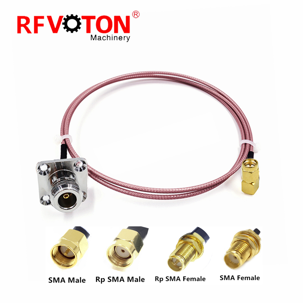 Rohs Compliant Part Sma Cable Assembly Electrical Wire
