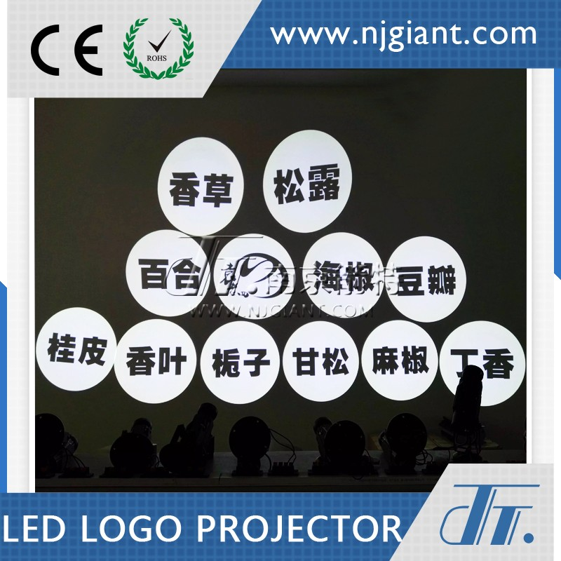 custom design logo projector led spotlight GLG-03S led wall projection light