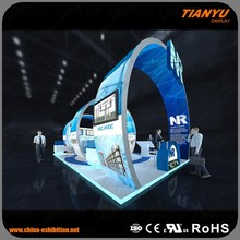 9x4m Advertising Ideas Booth Stand Exhibition Equip Modular Trade Show Circular Display