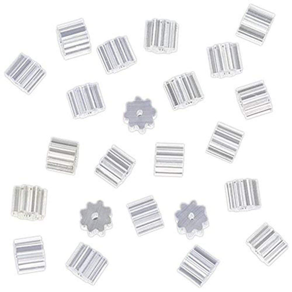 Get Quotations Susuntas 100 Pairs Rubber Star Anise Earring Safety Backs Backings Stopper Findings For
