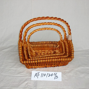 latest design handmade basket weave for home storage