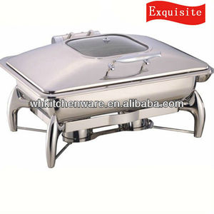 Tiger Leg Chafer hot food display warmers