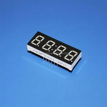 "high red 0.4"" 7 segment 4 digit led clock display"